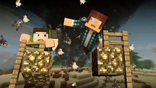 Minecraft: TORNADO na Fazenda !! - Aventuras Com Mods #10