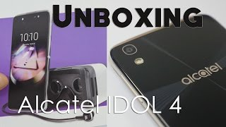 Alcatel Idol 4 Multimedia Centric Smartphone Unboxing & Overview