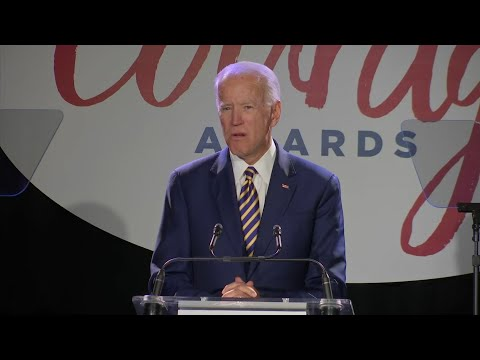 "Former Vice President Joe Biden says he regrets he didn't give Anita Hill ""the hearing she deserved"" when she shared her story of sexual harassment in the Senate confirmation hearings for Supreme Court Justice Clarence Thomas three decades ago. (March 26)"