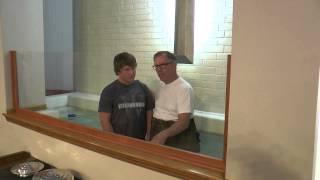 Baptism of Ryan Whiteley