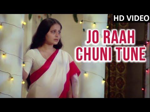 Download Jo Raah Chuni Tune Video Song | Tapasya | Parikshat Sahni, Raakhee | Kishore Kumar | Old Hindi Songs Mp4 HD Video and MP3