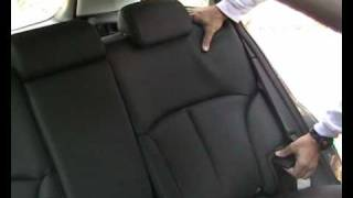 Interiores del Subaru Outback 2009