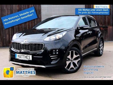 Fahrzeugvorstellung_Kia Sportage 2016 - Zilinaschwarz Metallic - GT-Line
