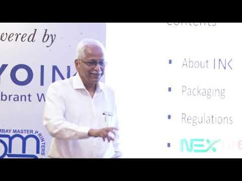 Food Safe Ink & IS 15495 Presented by  Ram Kumar, Toyo Ink @Impact Session 4th April 2019