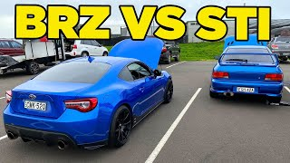 BRZ vs WRX STI - ReMatch [Disrespected Emotion]