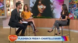 Chantelle Barry on Flashback Friday