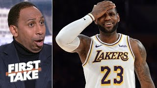 'This is what drives me crazy!' – Stephen A. on newfound information on LeBron's injury | First Take