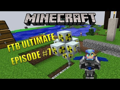 Minecraft] [FTB Ultimate] Fusion Power Plant - смотреть