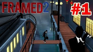 FRAMED 2 : Walkthrough Gameplay - Part 1 (CHAPTER 1 2 3 ) All Levels
