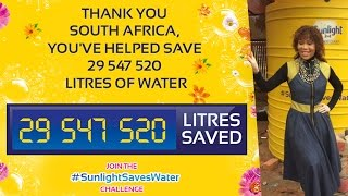 Thank you for contributing to the SunlightSavesWater challenge Click and watch the