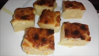 cassava cake (Philippine Style)