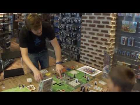 Color Warz : Dark Threat - Live with gameplay at the Ukronium (board games and minitiatures shop)