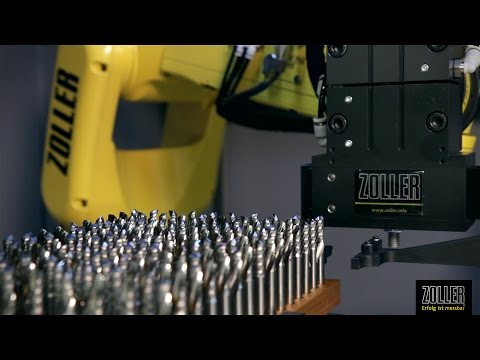 ZOLLER »roboSet2« - Automation Solution for High Tool Throughput
