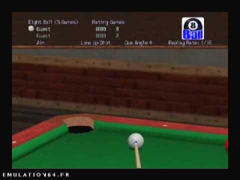 nintendo 64 virtual pool 64