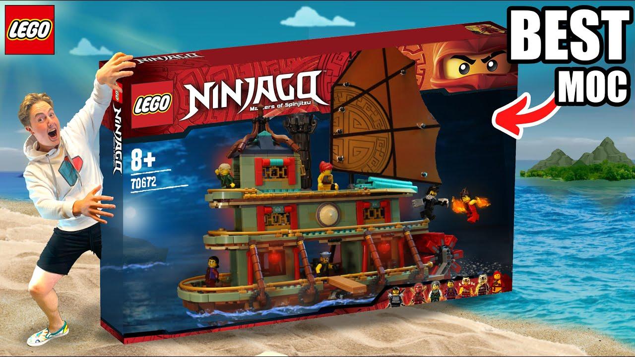Chen's Steam Boat MOC-BEST BOAT MOC EVER! (NINJAGO)