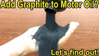 """Will """"Graphite"""" Help Motor Oil Performance? Let's find out! Vintage Arco Graphite vs Quaker State"""