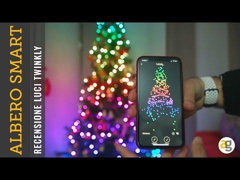 Albero di NATALE SMART! Recensione Luci LED Twinkly