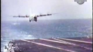 USS Forrestal C-130 Hercules Carrier Landing Trials