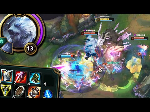 League of Legends but I turned the new Volibear rework into an OMEGACHONKER
