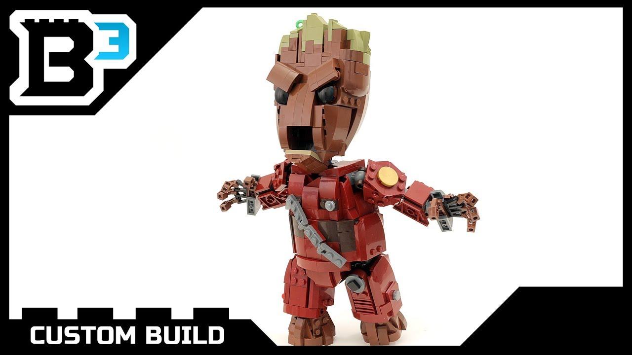 Custom LEGO Life-Size Baby Groot