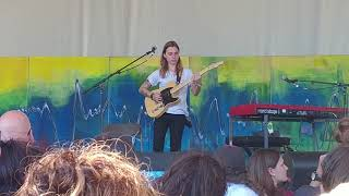 "Julien Baker Plays ""Red Door"" At Winnipeg Folk Fest Live Pt3"