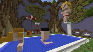 PISCINA Y RELOJ DE ABUELITA - BUILD BATTLE!