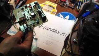 Как подключить двигатель от стиралки с регулировкой оборотов