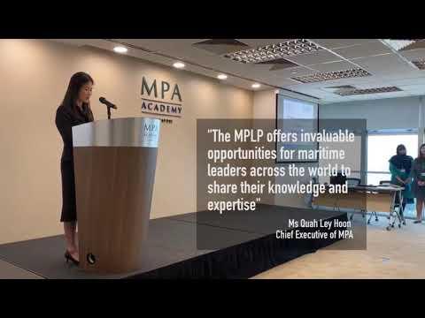 9th Maritime Public Leaders' Programme