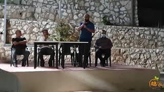 مقتطفات من الاجتماع الطارئ حول قضية مقبرة الاسعاف بيافا