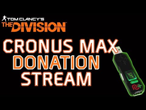 The division cronusmax deadeye coming soon كرونوس ماكس ذايفجن