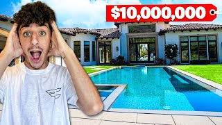 THE OFFICIAL REVEAL OF MY NEW $10,000,000 HOUSE! (Full Tour)