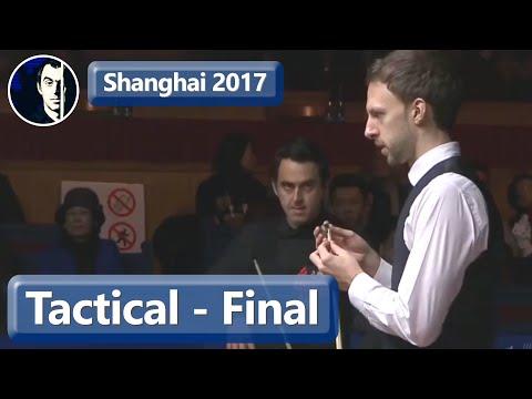 Attackers Become Tacticians | Ronnie O'Sullivan vs Judd Trump | 2017 Shanghai Masters Final