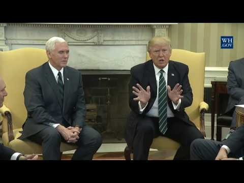President Trump Meets with the Republican Study Committee
