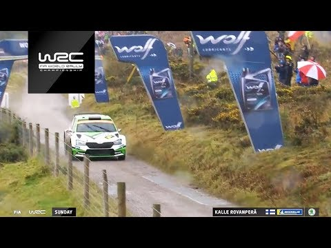 WRC 2 Pro / WRC 2 - Wales Rally 2019: Event Highlights Clip