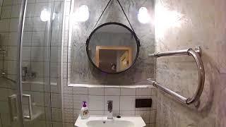 Бюджетный ремонт в ванной.
