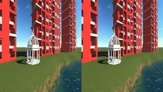 preview picture of video 'une vidéo 3d par Lumion 3D,  modélisé par sketchup'