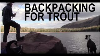 Ultralight Backpacking For Trout / Hammock Camping / Hiking / Firebox Nano Stove.
