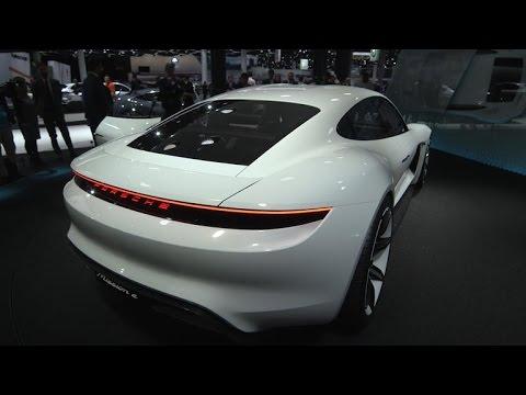 Car Tech – Porsche's Mission E previews an all-electric, Tesla-fighting Panamera