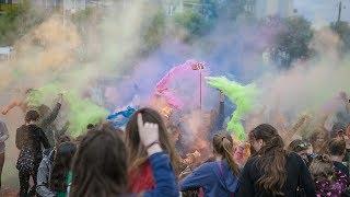 Holi Day w Łomży  - zabawa proszkami holli