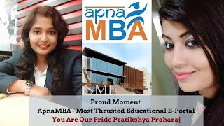 Proud Moment - ApnaMBA Admitted Students Success Stories