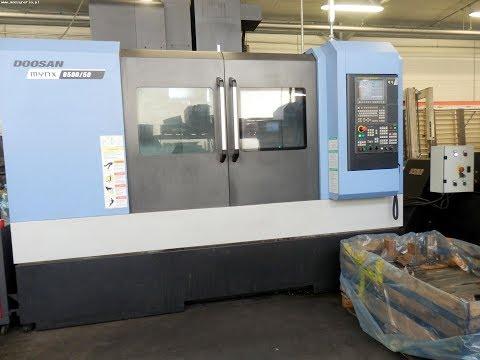 Centro de mecanizado vertical CNC DOOSAN MYNX 6500/50 2015