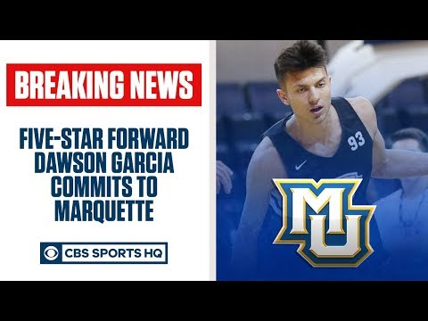 BREAKING: Five-star Dawson Garcia commits to MARQUETTE | CBS Sports HQ