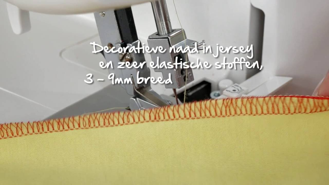 BERNINA L 460: instructievideo 5/8
