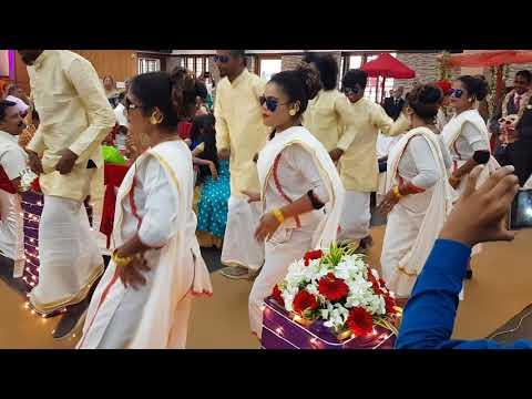 Wedding reception dance - Kerala Christian Wedding - BJM Entertainment