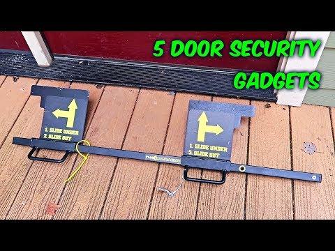 5 Door Security Gadgets put to the Test