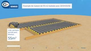 GEOHOUSE: la méthode de construction alternative de Geoplast