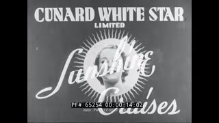 CARACAS & LA GUAIRA VENEZUELA 1930s TRAVELOGUE MOVIE  for CUNARD WHITE STAR LINE 65254
