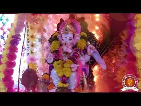 Jaya Gosavi Home Ganpati Decoration Video