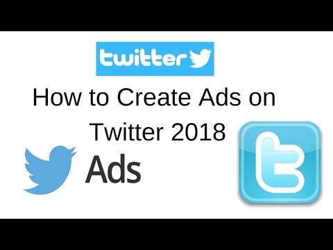 How to Create Ads on twitter 2018