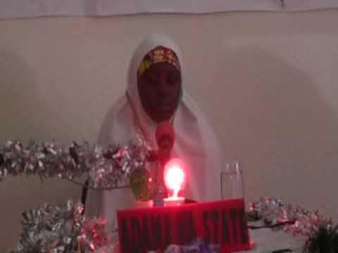 2014 Nigerian Musabaqa: Adamawa State 60 Hizb Female Participant